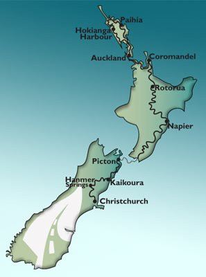 12 Day North Island GPS Sports Car Tour